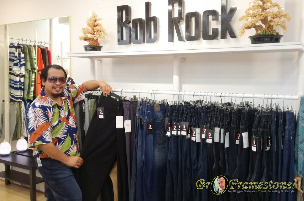 Seluar Bob Rock Plus Size