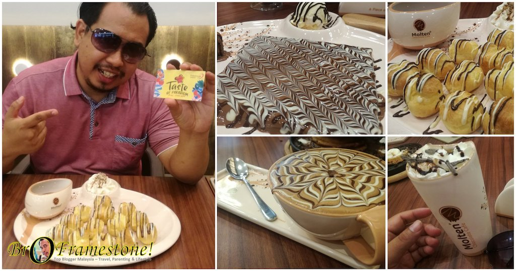 Molten Chocolate Cafe Paradigm Mall