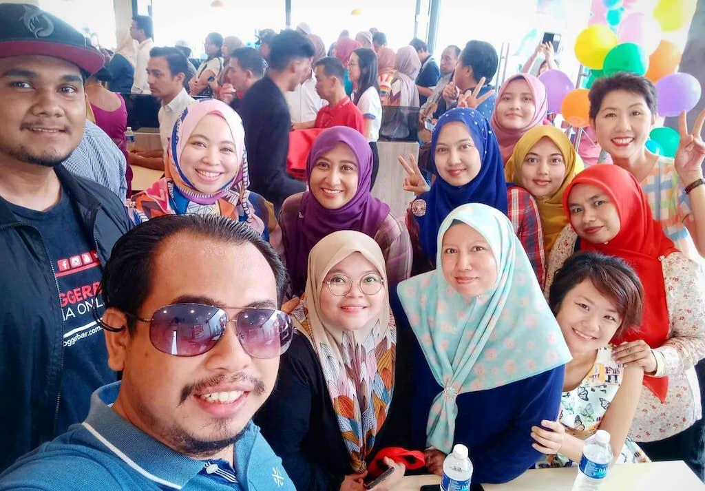 Rakan Blogger Marrybrown Sg Choh