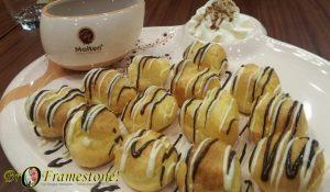 Creem Puff Molten Chocolate Cafe