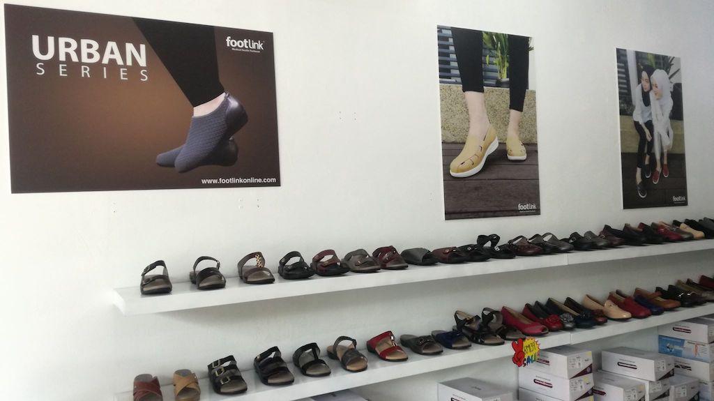 Footlink Pengeluar Kasut Kesihatan di Malaysia