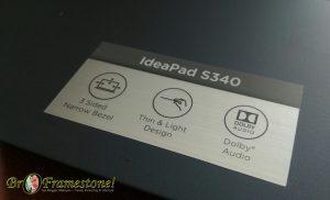 Lenovo IdeaPad S340 Sistem Bunyi Dolby