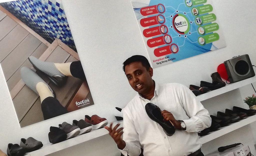 Penerangan Mengenai Produk Footlink