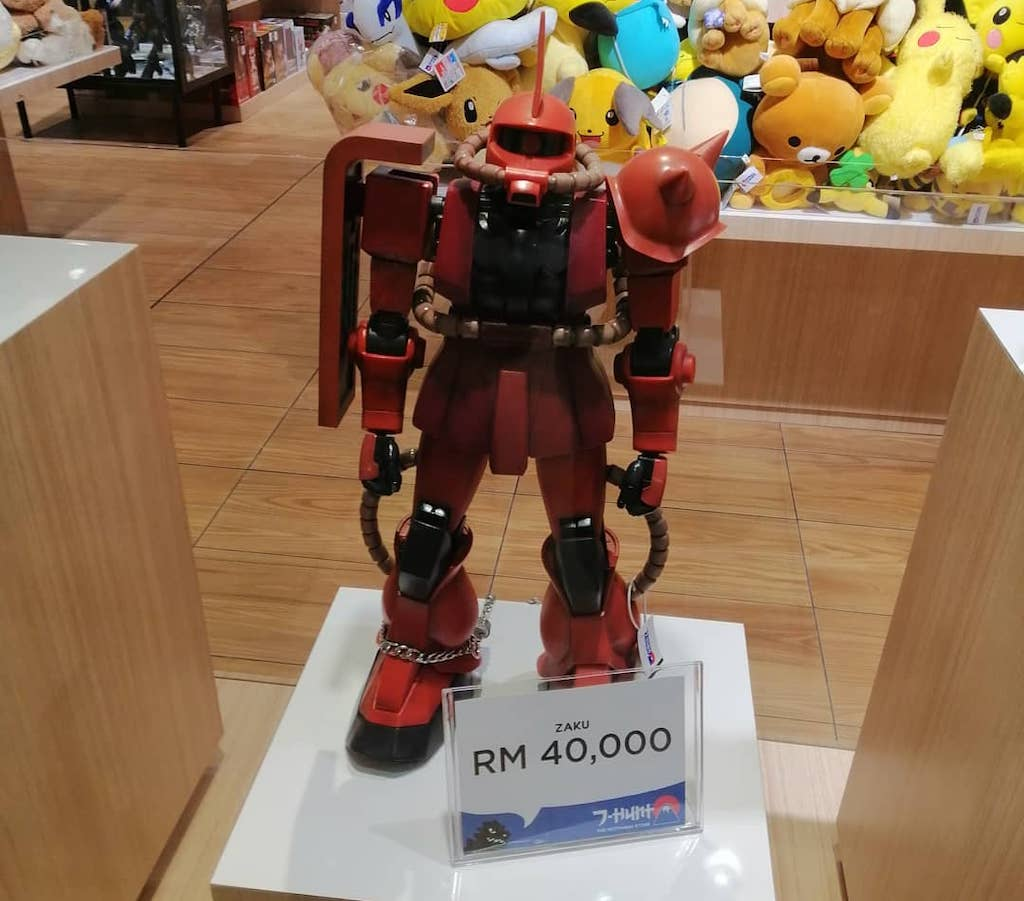 Action Figure Zaku J-Hunt
