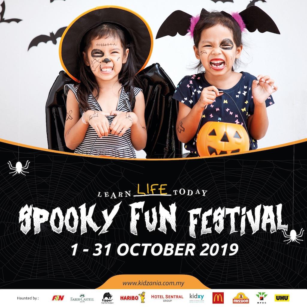 KidZania Kuala Lumpur's Spooky Fun Festival