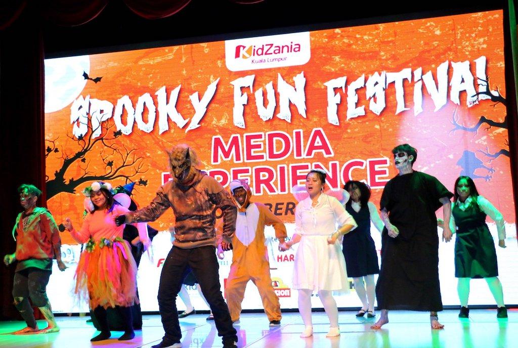 Aktiviti Menyeramkan Sempena Spooky Fun Festival di KidZania Kuala Lumpur