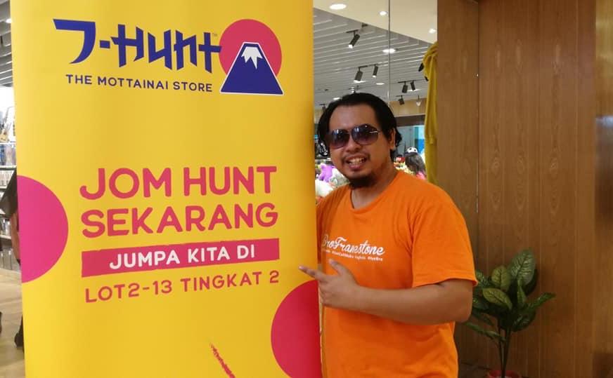 Barangan Preloved Berkualiti Tinggi & Premium Dari Jepun di J-Hunt, Subang Jaya