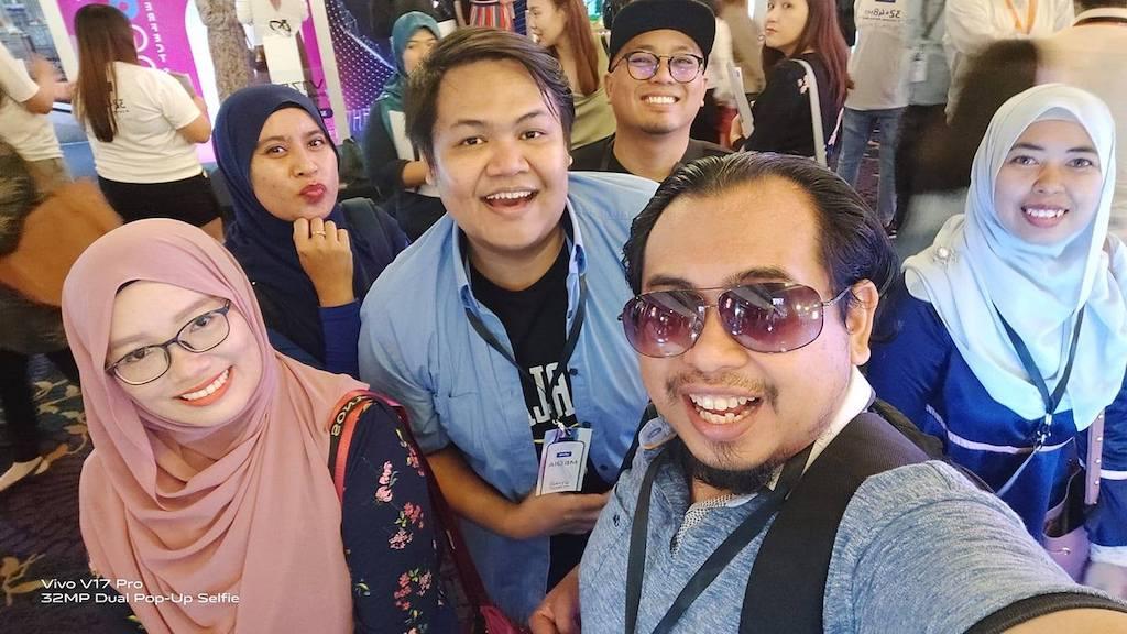Selfie Vivo V17 Pro