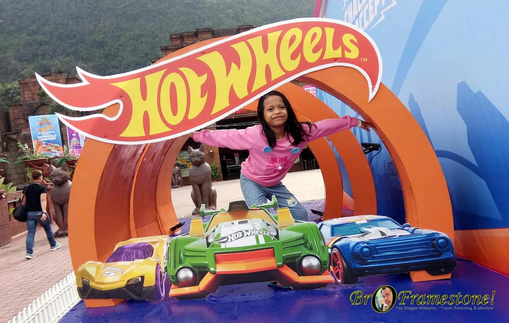 Jom Bercuti Bersama Hot Wheels dan Barbie di Lost World of Tambun, Ipoh