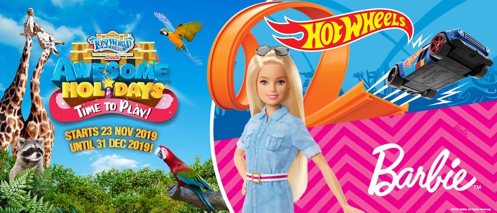 Hot Wheels dan Barbie Lost World of Tambun