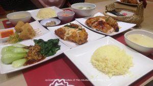 Menu Set Grilled Butter Chicken The Chicken Rice Shop