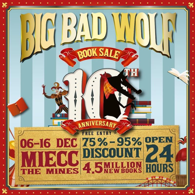 The Big Bad Wolf Book Sale