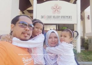 Bercuti di Swiss-Court Holiday Apartments, Damai Laut