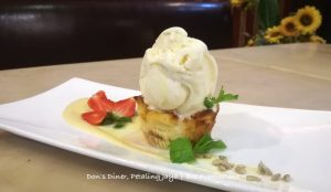 Bread Butter Pudding Don's Diner
