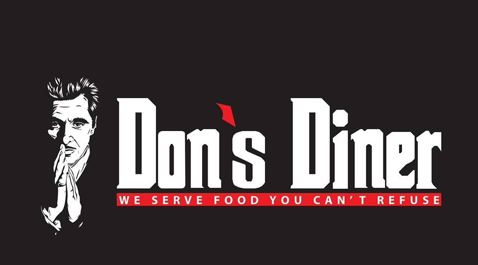 Logo Don's Diner - We Serve Food You Can't Refuse