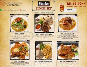 Lunch Set Don's Diner Petaling Jaya