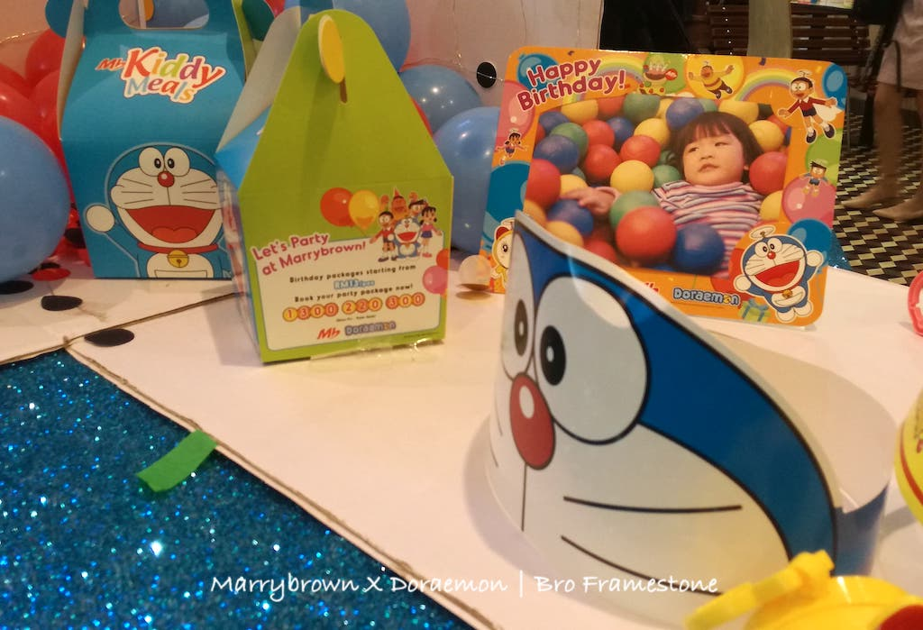 MB Kiddy Meals Doraemon