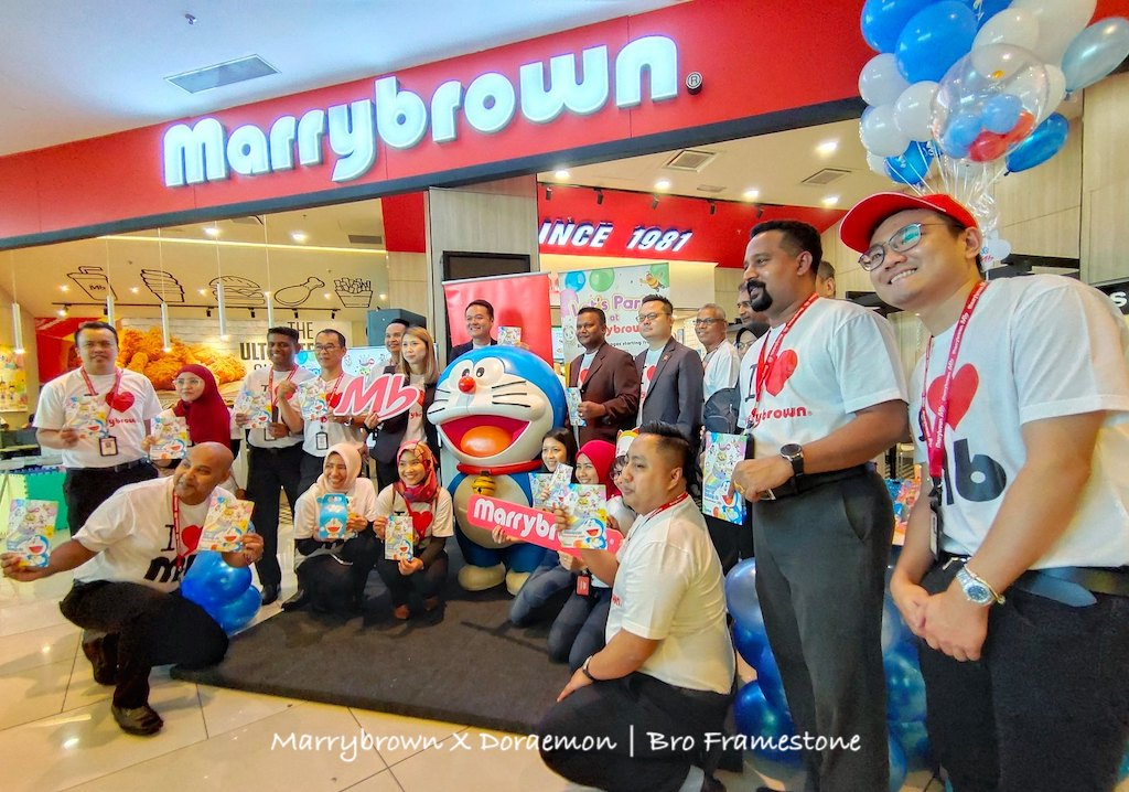Marrybrown X Doraemon