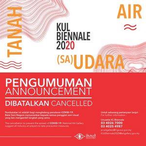Pembatalan Kuala Lumpur Biennale 2020