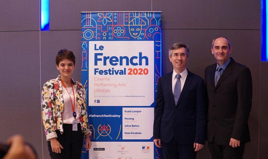 Le French Festival 2020 Kembali Untuk Edisi Yang Ke-19 di 4 Bandar Utama