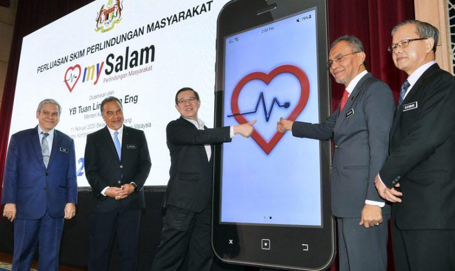Pendaftaran MySalam Beri Perlindungan Kesihatan Takaful Secara PERCUMA