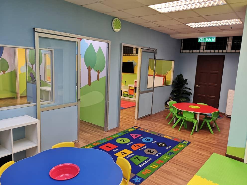 Ruang aktiviti kanak-kanak di Anak Pintar Centre