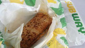 Berbuka sandwich Subway
