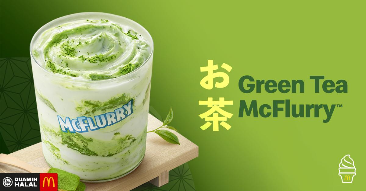 Green Tea McFlurry