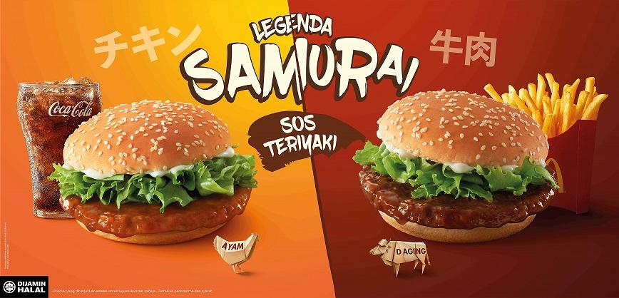 McD Burger Samurai