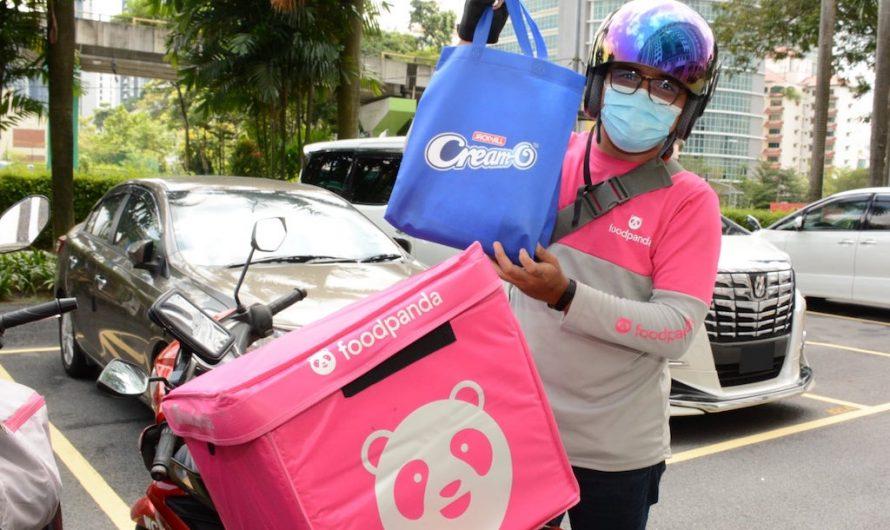 Kejutan Buat 100 Rider Foodpanda Dari JACK 'n JILL Cream-O