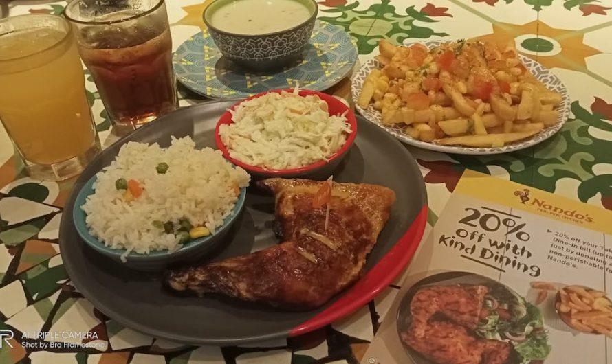 Sumbang Makanan Untuk Kempen 'Kind Dining' & Dapat 20% Diskaun Dari Nando's