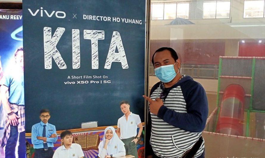 Filem Pendek 'KITA' Dirakam Hanya Menggunakan Telefon Pintar VIVO X50 Pro