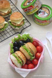 Burger Tuna Begedil Ayam Brands