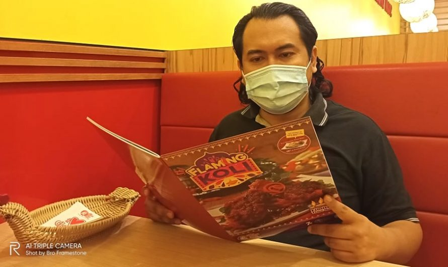 Nikmati Ayam Pedas & Enak – Flaming Koli di The Chicken Rice Shop (TCRS)