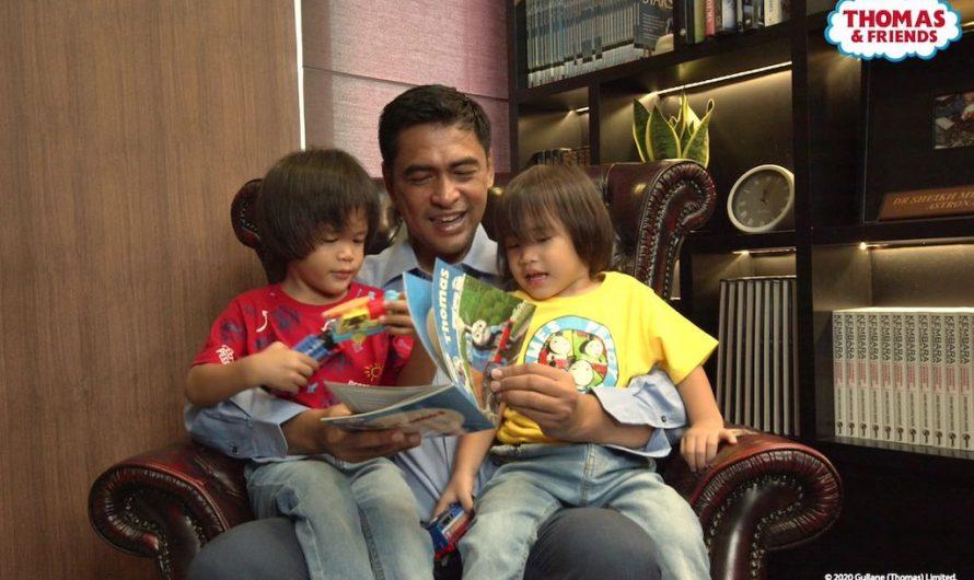 Sambutan Ulang Tahun Thomas & Friends™ Ke-75 Bersama Dr Sheikh Muszaphar