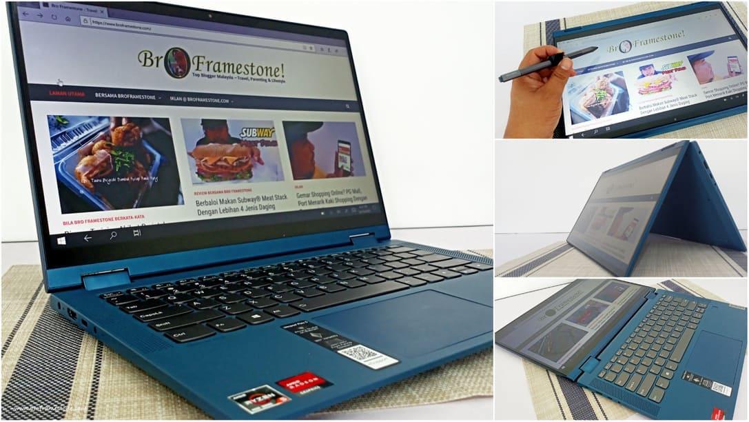 Lenovo IdeaPad Flex 5 AMD Fleksibiliti