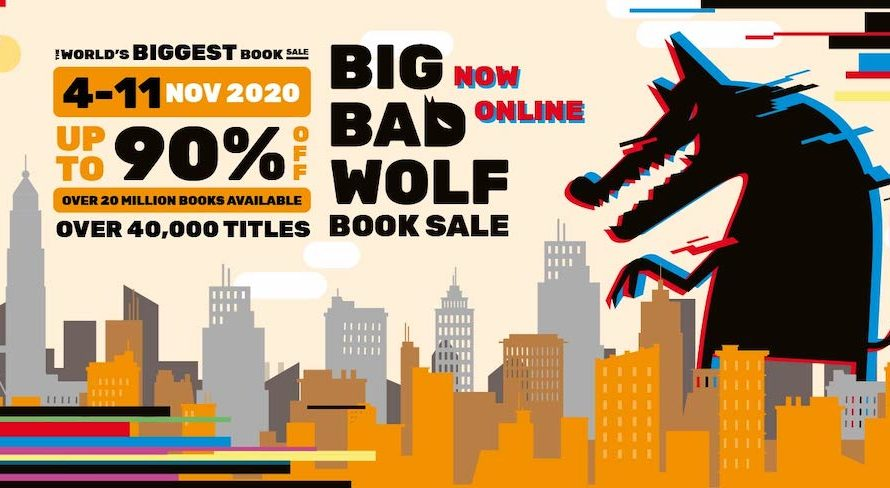 Jualan Buku Big Bad Wolf 2020 Secara Online Dari 4 ~ 11 November 2020