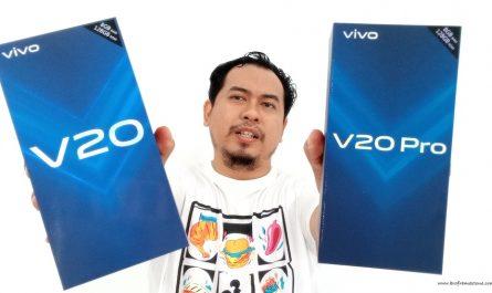 Antara Vivo V20 Vivo V20 Pro
