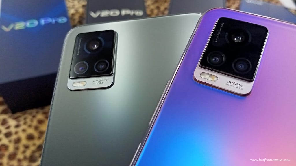 Main Camera vivo V20 & vivo V20 Pro
