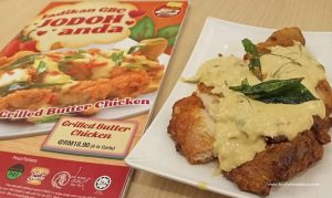 Grilled Butter Chicken The Chicken Rice Shop