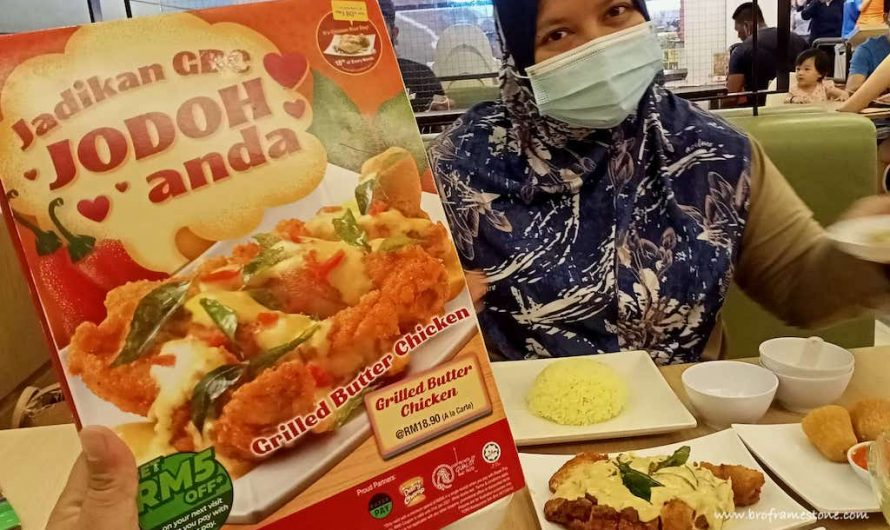 Berjodoh Dengan Grilled Butter Chicken di The Chicken Rice Shop (TCRS)