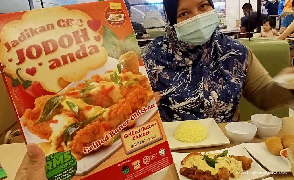 Jodoh Grilled Butter Chicken Rice Shop