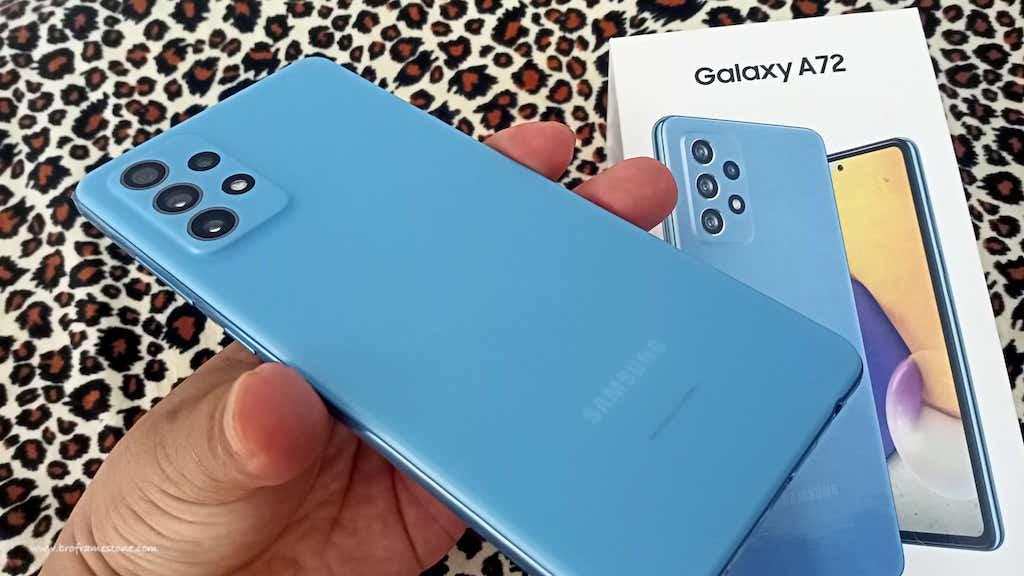Belakang Samsung Galaxy A72