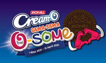 Peraduan Cream-O Sama-Sama O-some