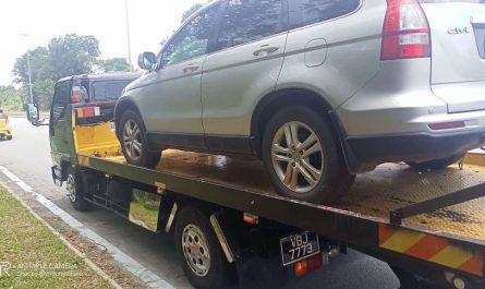 Towing Honda CRV