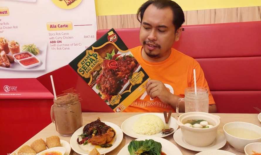 Menu Terbaru 'Ayam Sedap Baq Hang' di The Chicken Rice Shop (TCRS)