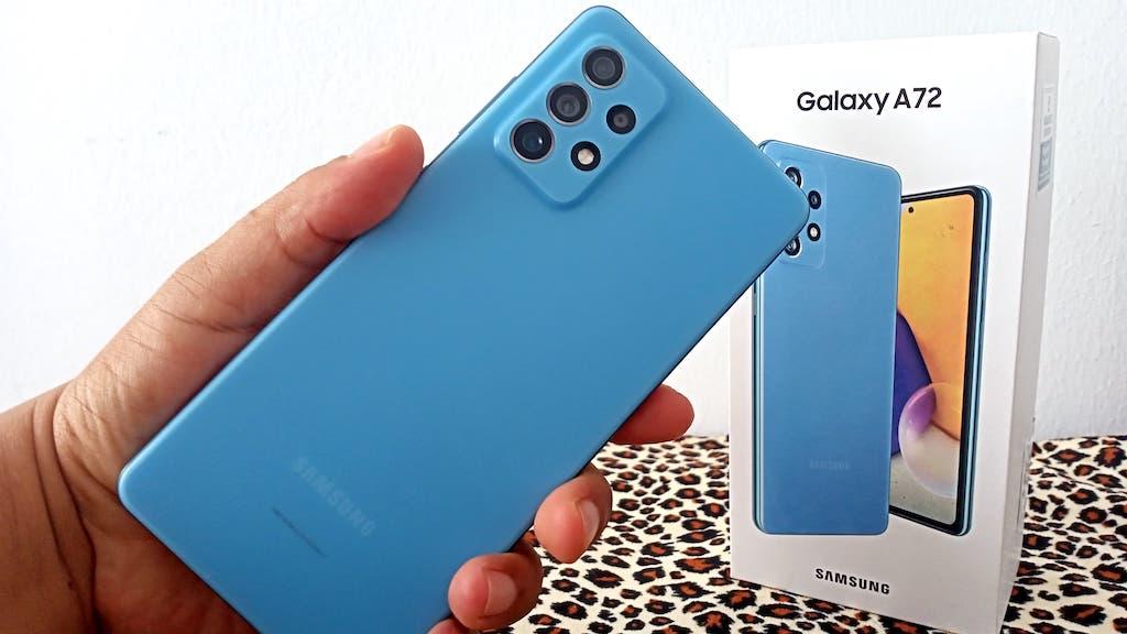 Pandang Pertama Samsung Galaxy A72