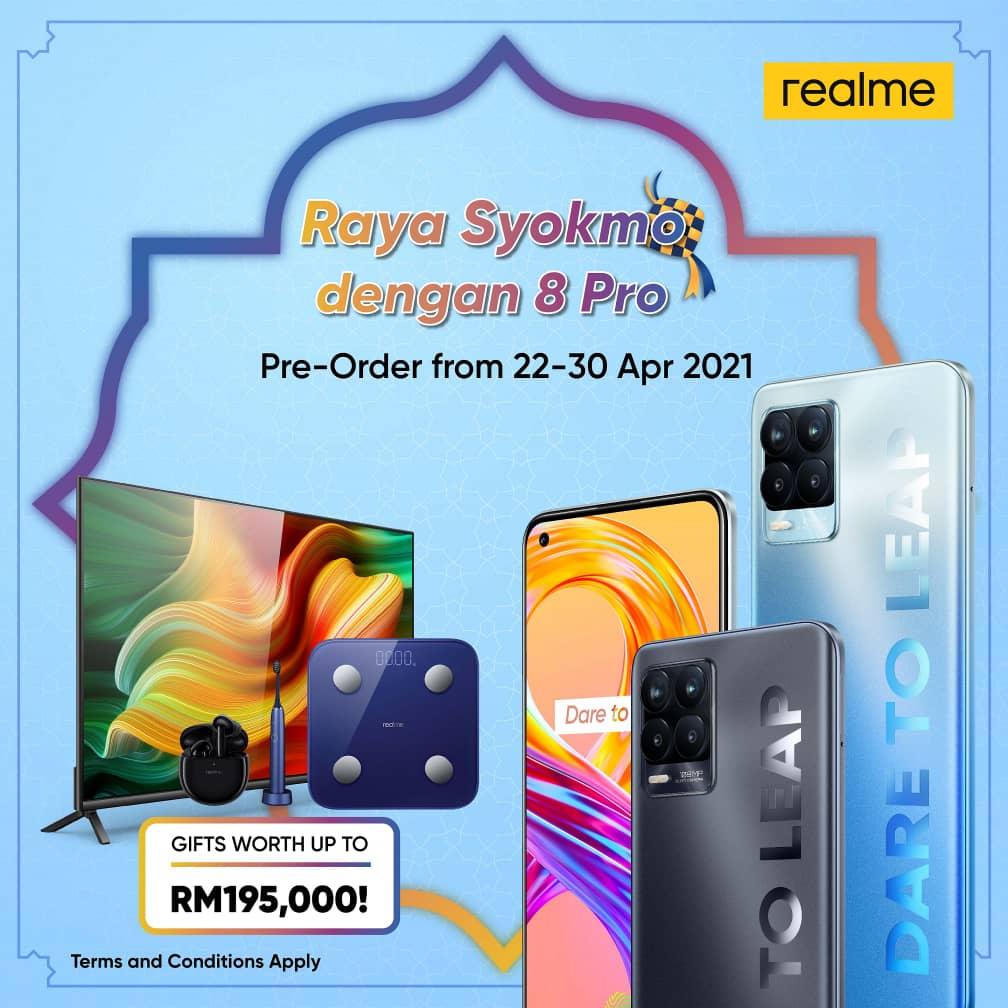 Raya Syokmo dengan 8 Pro
