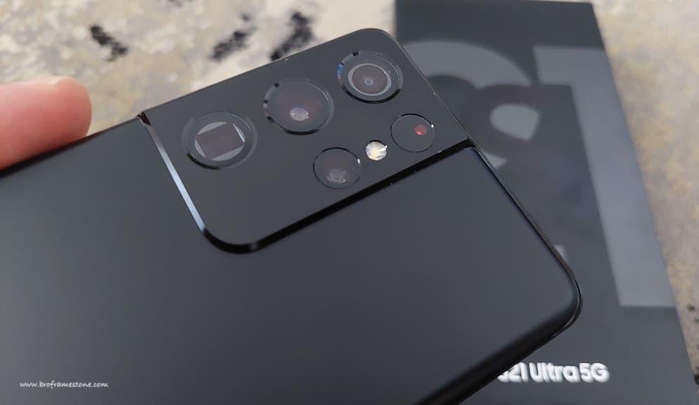 Kamera Galaxy S21 Ultra 5G
