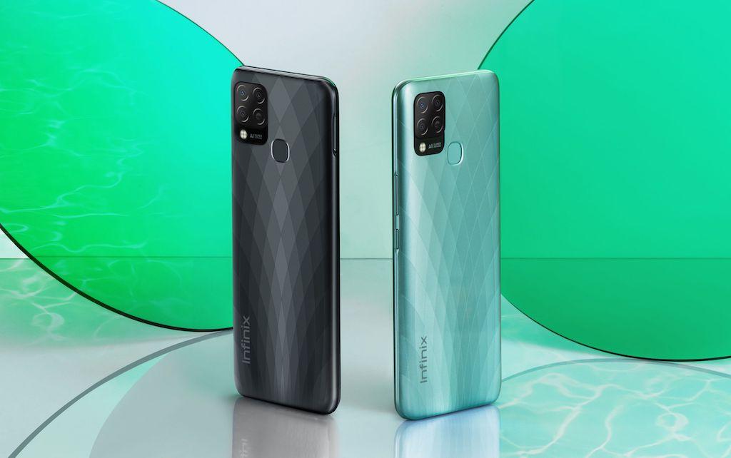 Infinix Hot 10S Black Green